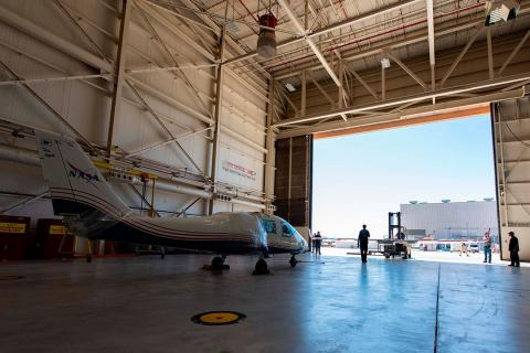 Avión eléctrico NASA