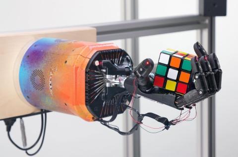 Brazo robot de Google