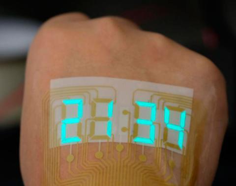 Cronómetro en la piel