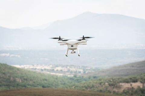 Dron de Aeorum para la seguridad vial