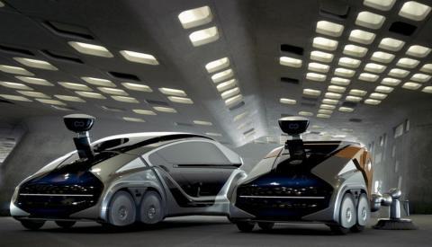 Coches autónomos con robot