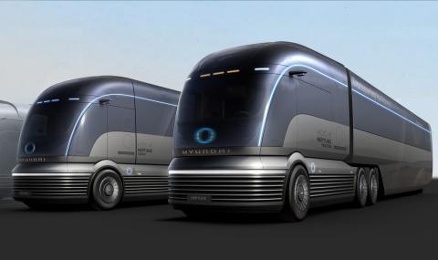 camión de hidrógeno Hyundai