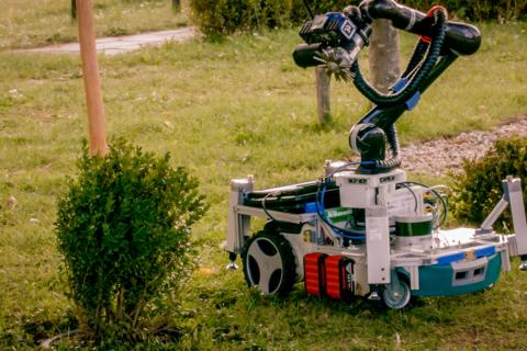 Robot jardinero