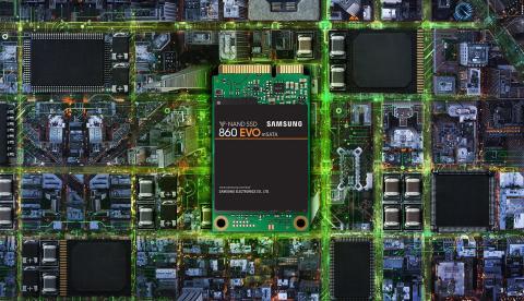 Samsung SSD 860 EVO m-SATA 1TB