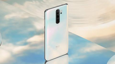 Xiaomi Redmi Note 8 Pro en color blanco