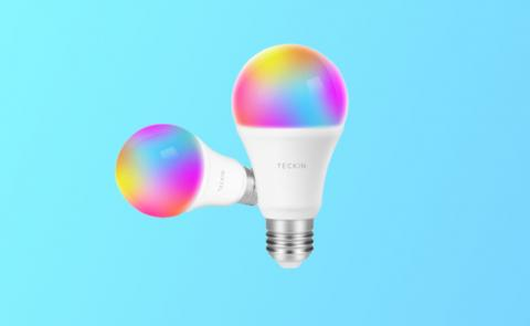 Bombilla inteligente Teckin Smart RGB Light Bulb
