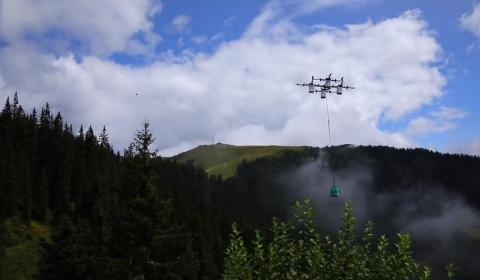 Dron sherpa