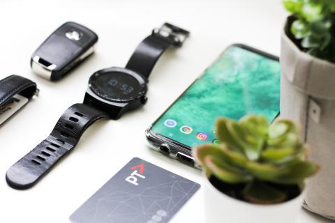 Gadgets en una mesa