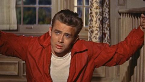 James Dean en Rebelde sin Causa