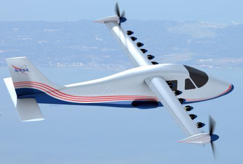 NASA X 57 Maxwell avión eléctrico