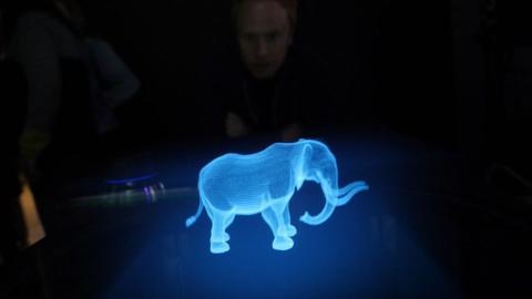 Pantalla holográfica