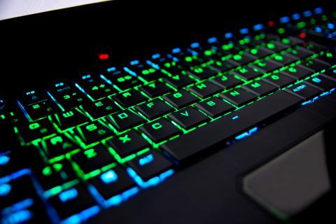 Portátil gaming teclado gaming