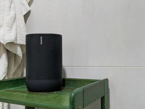 Sonos Move en el baño
