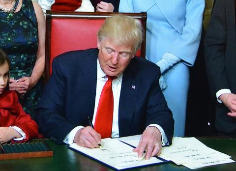 Trump letra