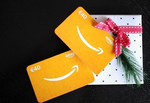 Cheque regalo de Amazon Navidad