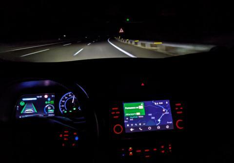 Viajes largos en coche eléctrico