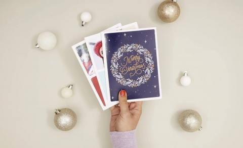 Crear postal navidad