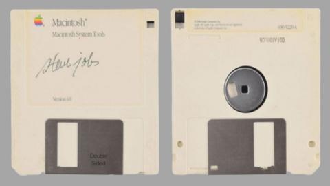 Disco firmado Steve Jobs