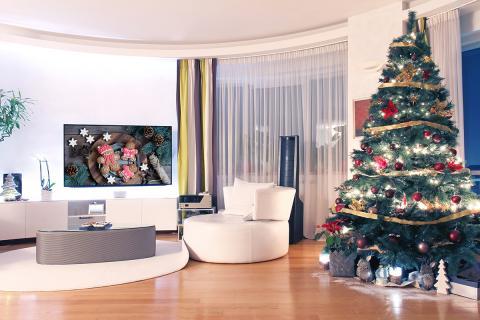 Fondo de pantalla de Navidad para Chromecast
