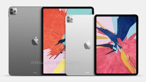 iPad Pro 2020 (render filtrado)