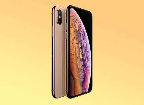 iPhone XS dorado