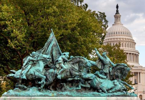 Monumento Guerra Secesión EEUU