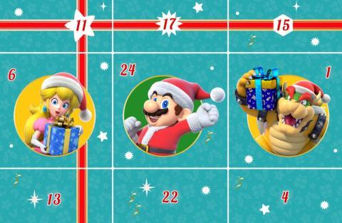 Calendario de Adviento de Nintendo
