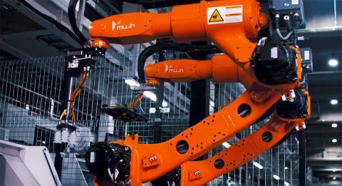 Robot dobla camisetas