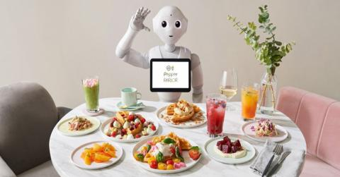 Robot Pepper camarero