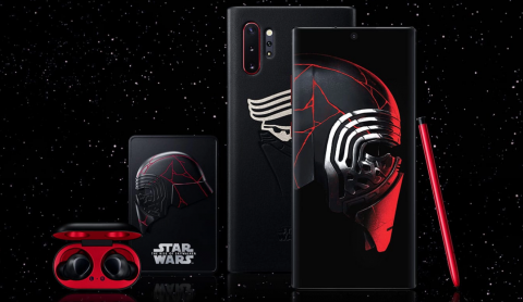 Samsung Galaxy Note10+ Edición Lado Oscuro Star Wars