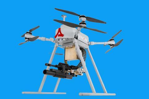 Songar dron ametralladora