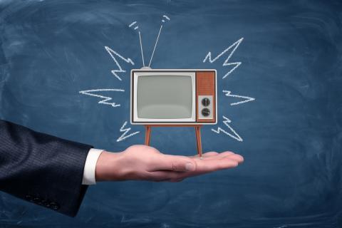 Televisión televisor pizarra