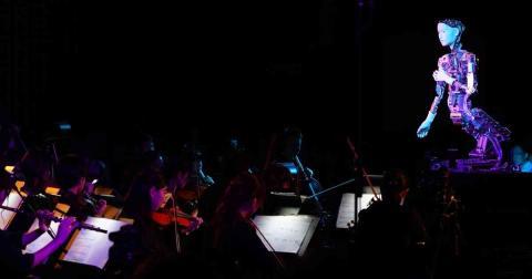 Alter 3, el robot director de orquesta