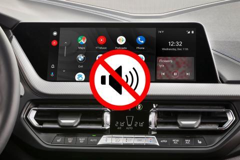 Android Auto, silenciar notificaciones