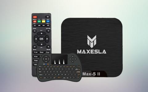 Android TV Box Maxesla MAX-S II Mini TV Box