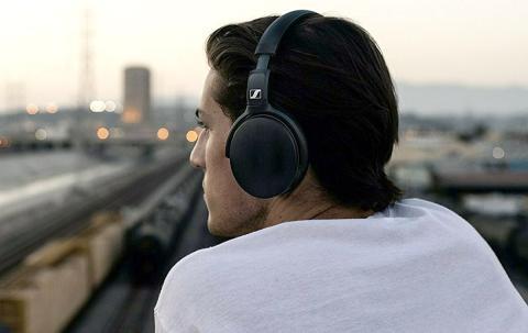 Auriculares de diadema con cancelación de ruido activa Sennheiser HD 4.50 Special Edition