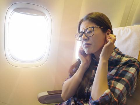 avion pasajera