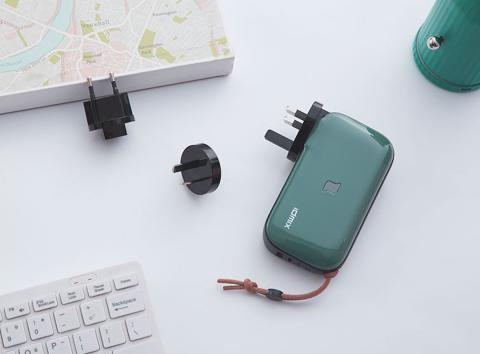 Batería portátil Xiaomi y cargador universal