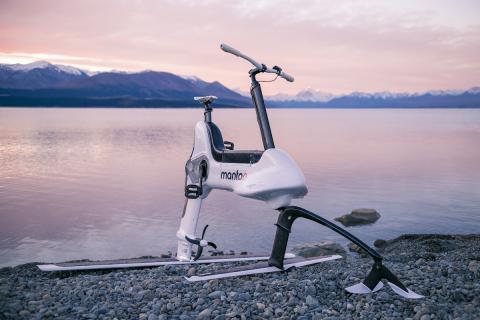 Bici eléctrica acuática Manta5