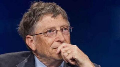 Bill Gates preocupado