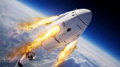 Space X Explosión Falcon 9