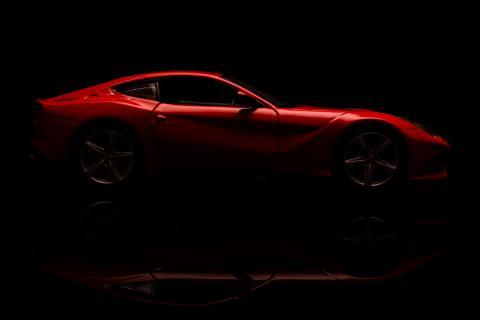 Ferrari coche silueta
