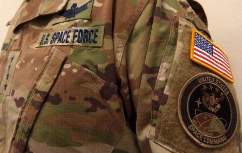 Fuerza Espacial Estados Unidos