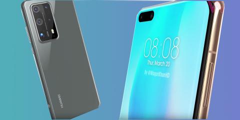 Huawei P40 Pro, video filtrado