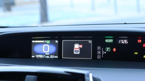 Interior del Toyota Prius 2019