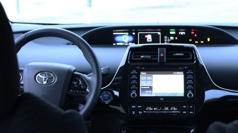 Interior Toyota Prius 2019