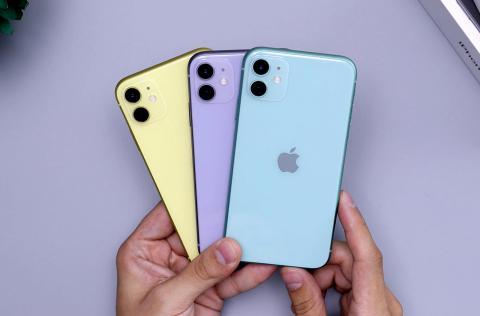 iPhone 11 en colores