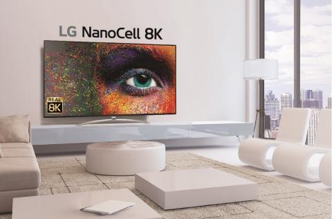 LG 8K Real