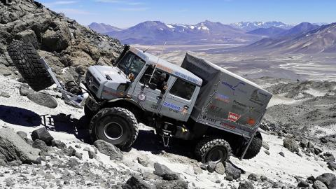record altitud altura off-road extremo lujo
