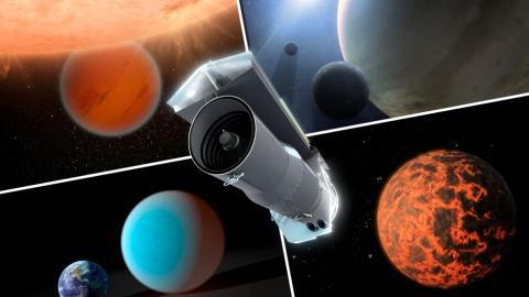Misiones Telescopio Spitzer